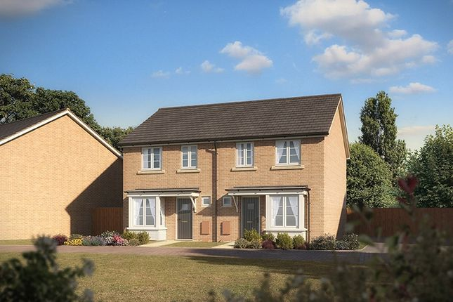 "Thumbnail Semi-detached house for sale in ""The Comanche"" at Clarks Close, Yeovil"