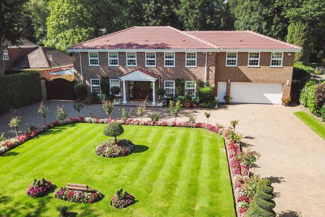 Thumbnail Detached house for sale in Ince Road, Burwood Park, Hersham, Walton-On-Thames