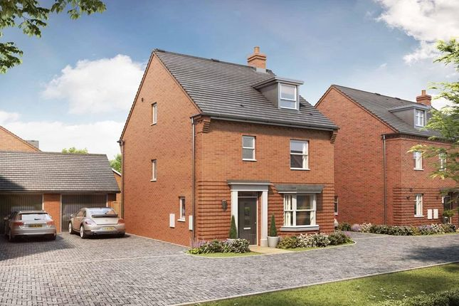 """Thumbnail Detached house for sale in """"Bayswater"""" at Broughton Crossing, Broughton, Aylesbury"""