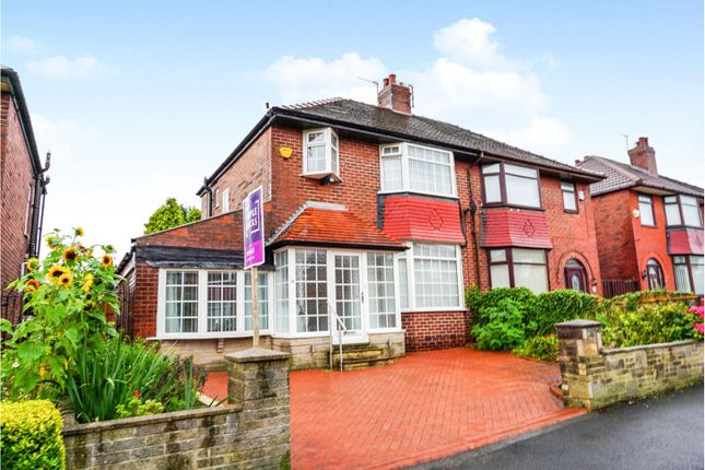 Thumbnail Semi-detached house for sale in Crescent Road, Oldham