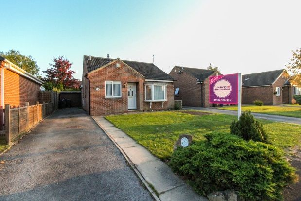 Thumbnail Bungalow to rent in The Green, Tockwith, York