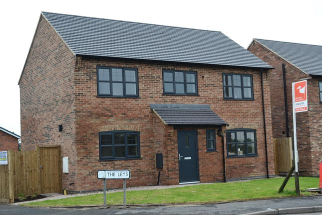 Thumbnail Detached house for sale in Park Road, Newhall, Swadlincote