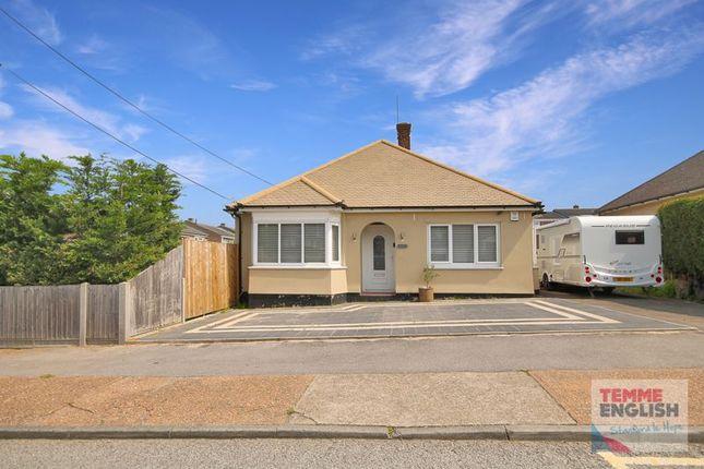 Thumbnail Detached bungalow for sale in Balmoral Avenue, Corringham, Stanford-Le-Hope