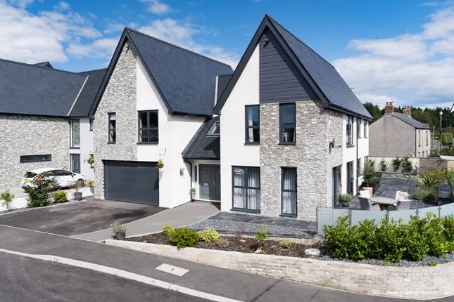 Thumbnail Detached house for sale in Greystone, 1 Laurel Court, Waterton, Bridgend