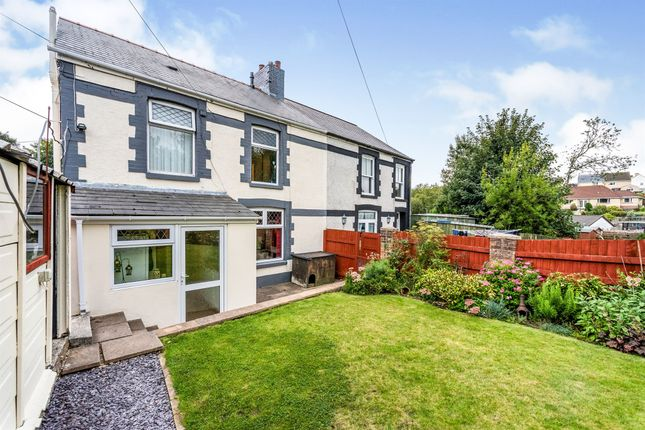 Thumbnail Semi-detached house for sale in The Sycamores, Beaufort, Ebbw Vale