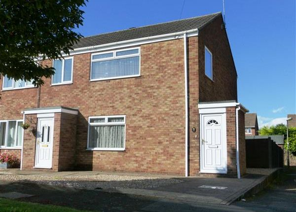 Thumbnail Semi-detached house for sale in Ancaster Court, Scunthorpe