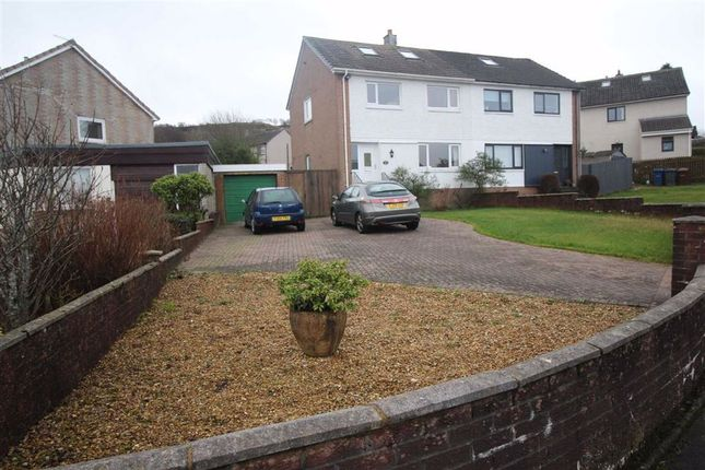 Thumbnail Semi-detached house for sale in Moorfoot Drive, Gourock