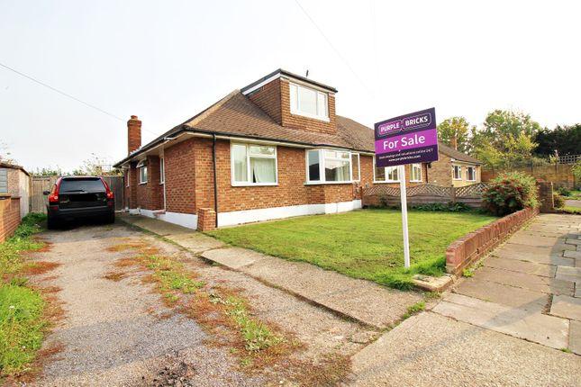 Thumbnail Semi-detached bungalow for sale in Hazelmere Close, Feltham