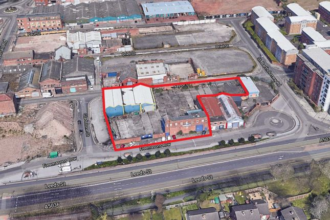Thumbnail Land for sale in Land And Buildings At Freemasons Row, Liverpool