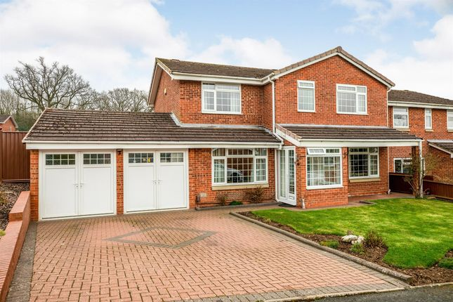 Thumbnail Detached house for sale in Great Barn Lane, Redditch