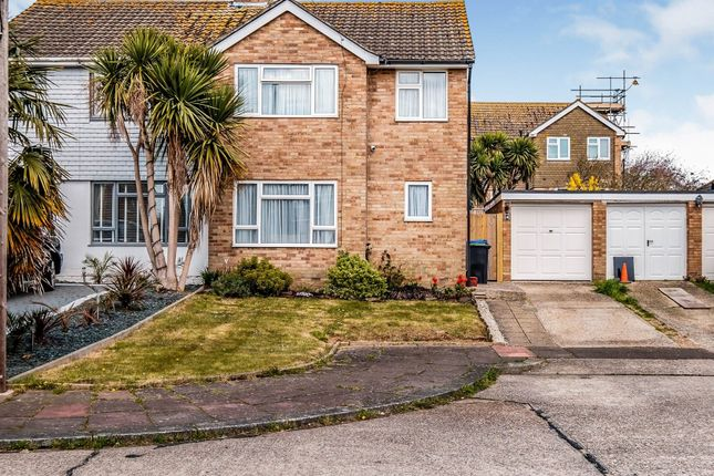 Thumbnail Semi-detached house for sale in Medway Close, Worthing