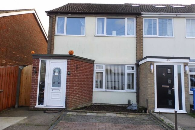 Thumbnail End terrace house for sale in Diamond Close, Ipswich