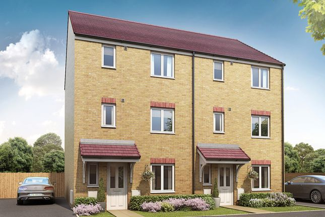"""Thumbnail Semi-detached house for sale in """"The Wolvesey"""" at Stafford Road, Wolverhampton"""