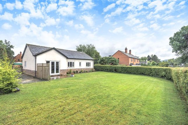 Thumbnail Detached bungalow for sale in The Docs Eardisley, Herefordshire HR3,