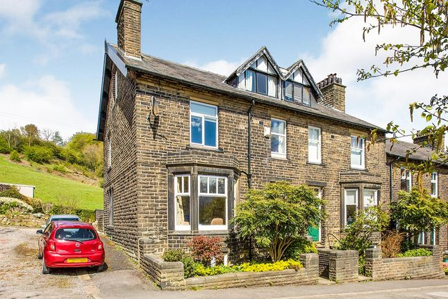 5 bed end terrace house for sale in Park Road, Todmorden, West Yorkshire OL14