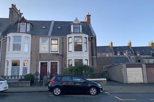 Thumbnail End terrace house for sale in King Harald Street, Lerwick, Shetland