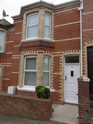 Thumbnail Town house to rent in Kings Road, Exeter