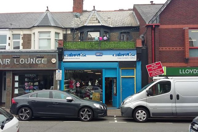 Thumbnail Retail premises for sale in 4, Wellfield Road, Roath, Cardiff, South Wales
