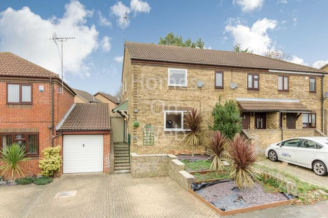 Thumbnail End terrace house for sale in Goodwood, Great Holm, Milton Keynes