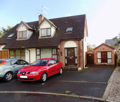 Thumbnail Semi-detached house to rent in The Brambles, Lisburn