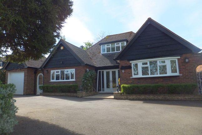 Thumbnail Detached bungalow for sale in Waters Drive, Four Oaks, Sutton Coldfield