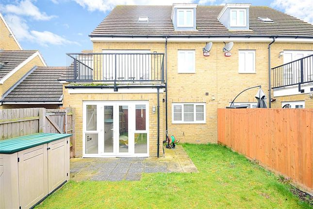 Thumbnail Semi-detached house for sale in Kings Wood Park, Epping, Essex