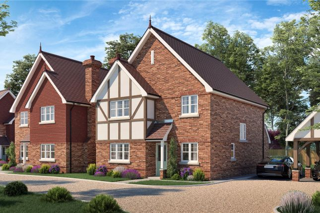 Thumbnail Detached house for sale in Croft Road, Shinfield, Reading, Berkshire