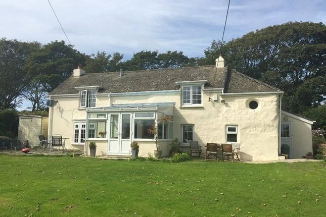 Thumbnail Detached house for sale in Reen Cross, Goonhavern, Nr Truro