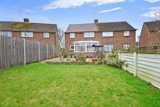 Thumbnail Semi-detached house for sale in Lyngs Close, Yalding, Maidstone, Kent