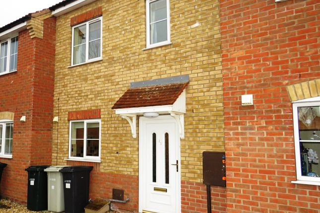 Thumbnail Terraced house to rent in Curtis Drive, Coningsby, Lincoln
