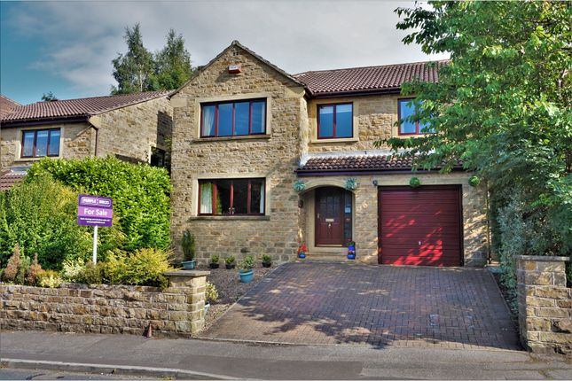 Thumbnail Detached house for sale in Nab Wood Drive, Shipley