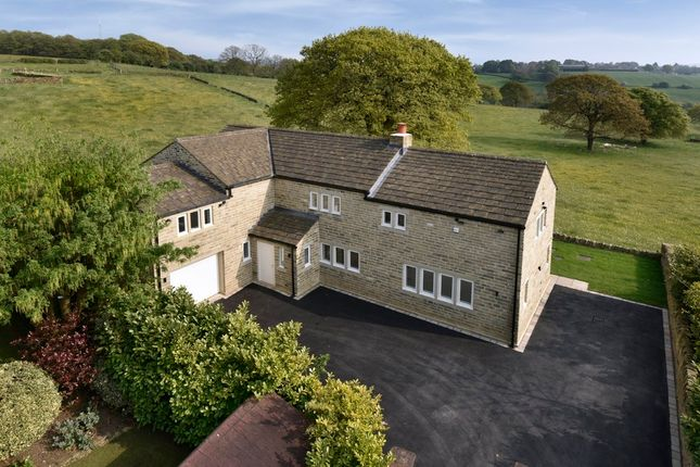 Thumbnail Detached house for sale in Meadow View, Rowley Lane, Fenay Bridge, Huddersfield, West Yorkshire