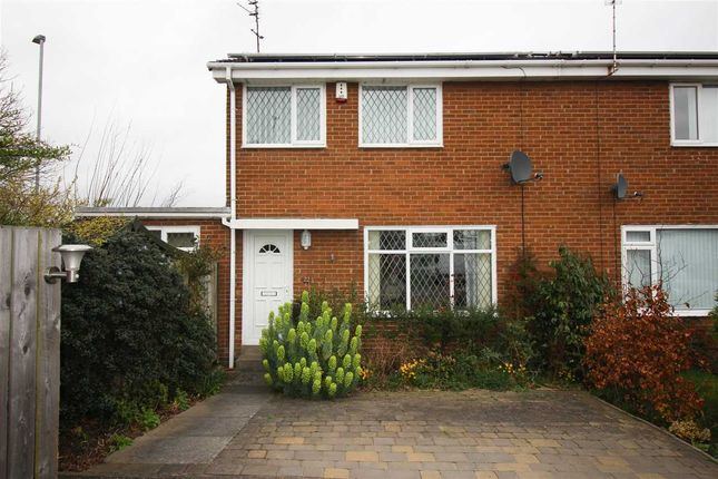Thumbnail Semi-detached house to rent in Poole Close, Eastfield Chase, Cramlington