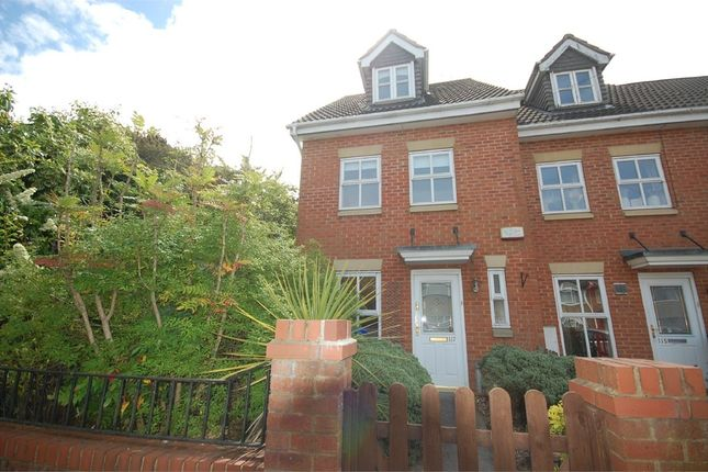 Thumbnail End terrace house to rent in Balfour Road, Kingsthorpe Hollow, Northampton