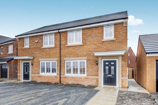 Thumbnail Semi-detached house to rent in Aylesbury Grange, Barley Meadows, Cramlington