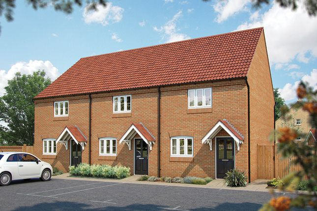 "Thumbnail Terraced house for sale in ""The Langley"" at Manorville Road, Hemel Hempstead"