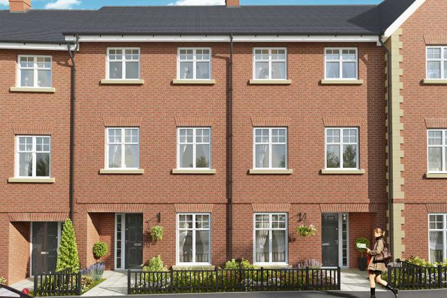 """Thumbnail Terraced house for sale in """"The Bewcastle"""" at The Ridgeway, Enfield"""