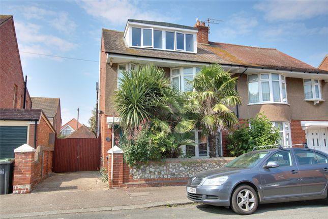 Thumbnail Semi-detached house for sale in Ethelred Road, Worthing, West Sussex