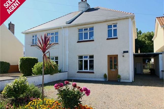 Thumbnail Semi-detached house for sale in Salines Road, St. Sampson, Guernsey