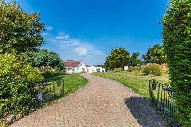 Thumbnail Detached bungalow for sale in La Moye Lane, St. Martin, Guernsey