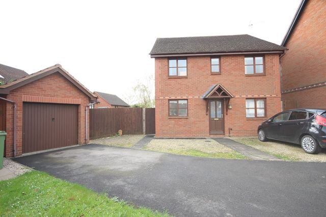 Thumbnail Detached house to rent in Courtney Close, Stonehills, Tewkesbury