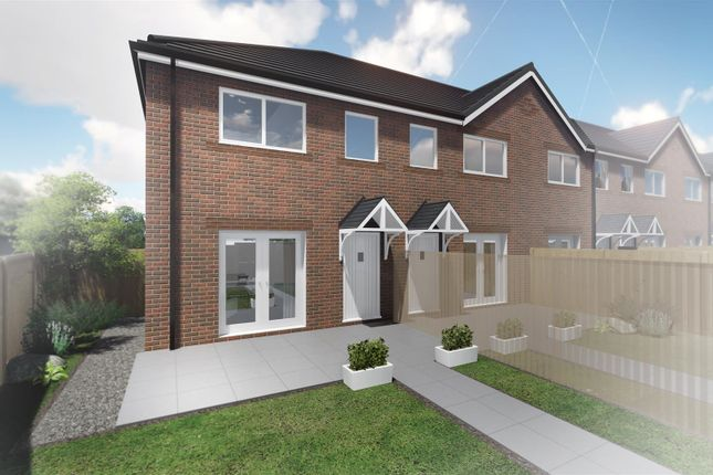 Thumbnail End terrace house for sale in Barnston Lane, Moreton, Wirral