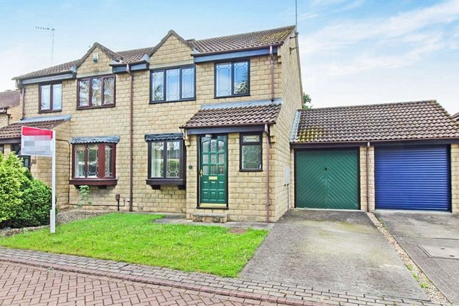Thumbnail Semi-detached house for sale in Green Lea Close, Boston Spa, Wetherby