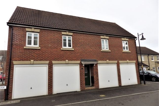 Thumbnail 2 bed property to rent in Claydon Road, Swindon, Wiltshire