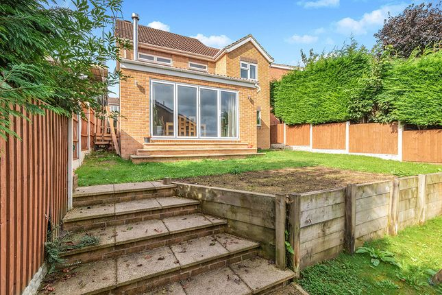 Rear Of Property of Setts Way, Wingerworth, Chesterfield, Derbyshire S42