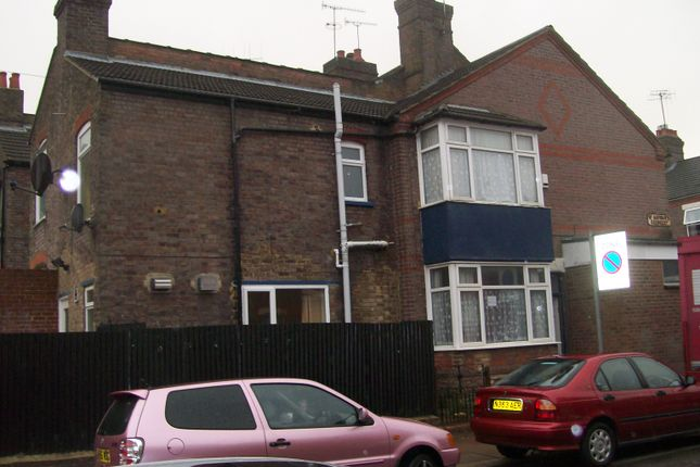 Thumbnail End terrace house to rent in St Saviours Crescent, Luton