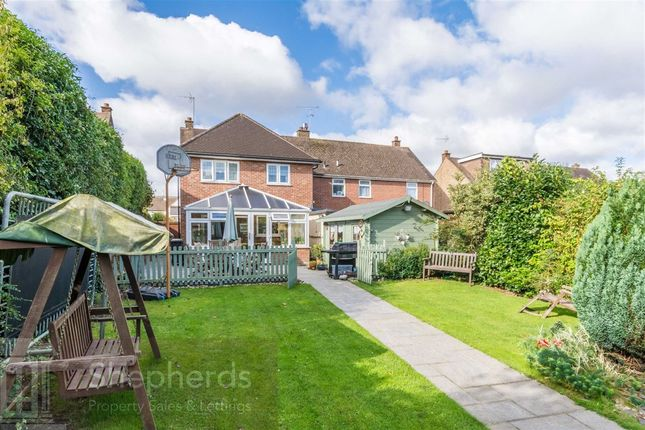 Thumbnail Semi-detached house for sale in Parkfields, Roydon, Essex