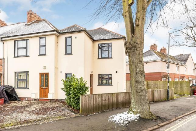 Thumbnail End terrace house for sale in Wathen Road, Warwick, Warwickshire