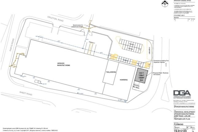 Thumbnail Industrial to let in Orleton Road, Ludlow Business Park, Ludlow