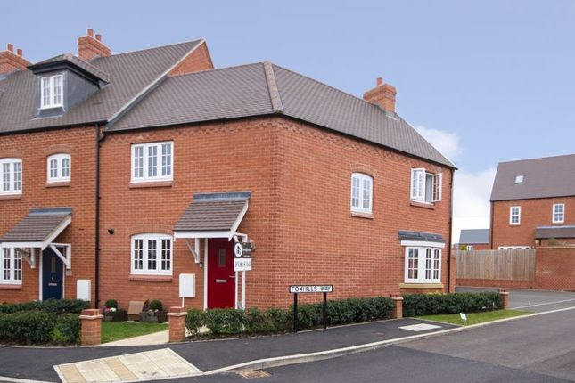 3 bed end terrace house for sale in Foxhills Way, Brackley NN13
